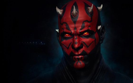 The Sith Lord, Darth Maul pt II by synthesys