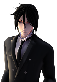 .: Sebastian Michaelis (Demon Version) :. by CurryKitten