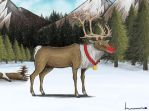 Rudolph the Red-Nosed Reindeer by Louisetheanimator
