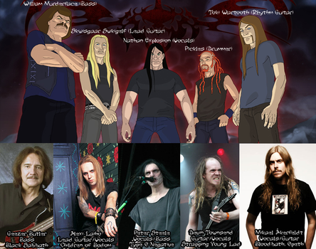 The Real Dethklok by TheMissingCloud