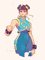 Chun Li Alpha by michaelfirman