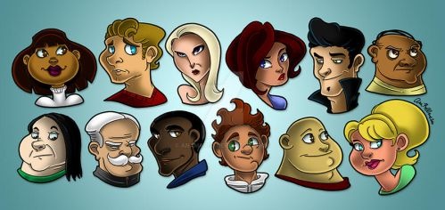 Faces by Anamated