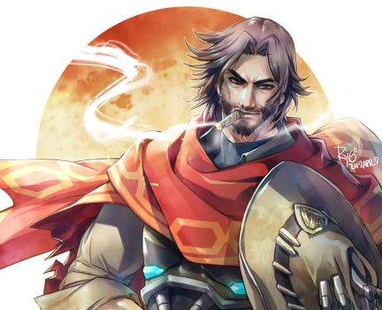 Overwatch_Mccree by RYOxKJ