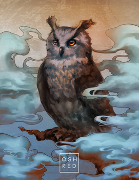 Father Owl by oshRED