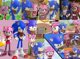 Sonamy Boom Collage by SonicBoomGirl23