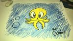 Baby Octodad by TopHatLycanthrope