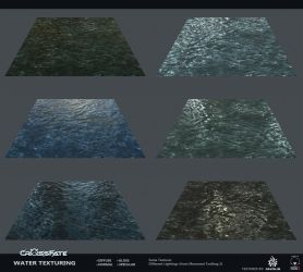 Cross-Fate - Water Texturing by davislim