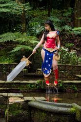 Warrior Princess of the Amazons by PuchysLove