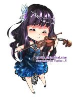 Chibi Commission for Eveline N by cuwiie