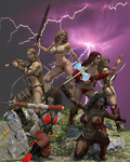 Barbarian Princess Test By Nathanomir by Cityhunter77