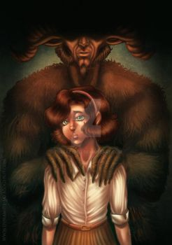 Pan's Labyrinth by Thelazyred