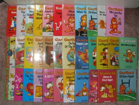 Garfield books part 1 by CPT-Wu
