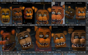 Withered Freddy Vmax wip by CoolioArt