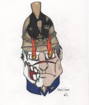 Swedish patriot head portret by voodoclown
