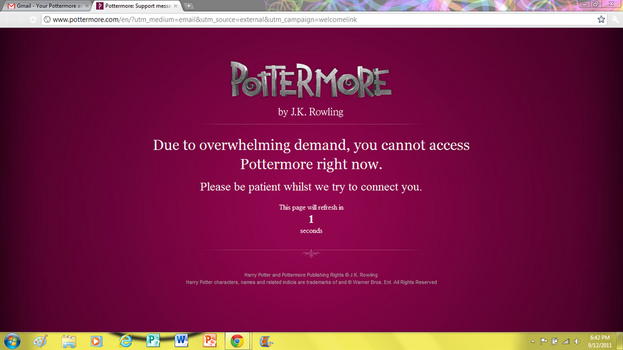 Pottermore Hates Me by panny12345