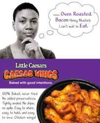 Caesar Wings Flyer2 by Whatsome
