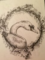 Swan by crystalqueen14
