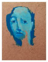 Blue Face by ndrj