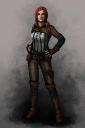 Triss Merigold by touchedbyred