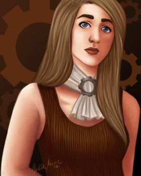 Concept - Steampunk Heroine by CailinMarie
