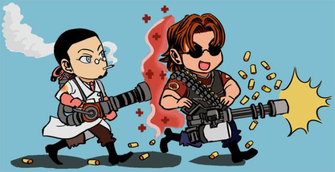 GC - Team Fortress 2 nerdery by TracyWilliams
