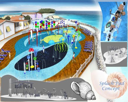 Island Splash Pad by Orinn