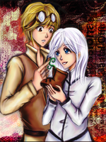 Walle and Eve by AStudyInScarlet