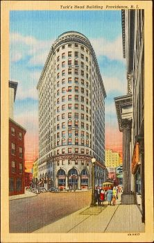 Turk's Head Building, Providence Rhode Island by Yesterdays-Paper