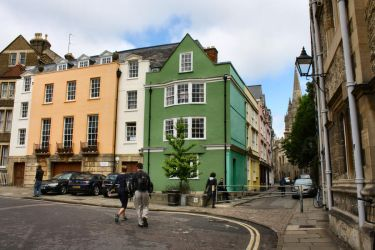 Street in Oxford by thecitizeneraser