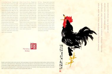 Chinese Calligraphy 6 by boonsinwei