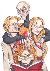 Game Of Thrones - The Lannisters by ryanneal