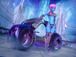 Cyber Ryder by Doc000