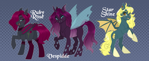Pony Adoptables 9 by BlitheDragon