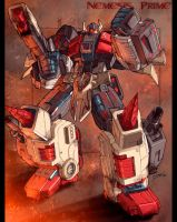 War Within Nemesis Prime HUGE by dcjosh