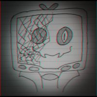 Corrupted TV Head by AirwaveLOL
