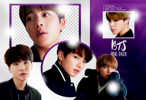 PNG PACK: BTS #9 by Hallyumi