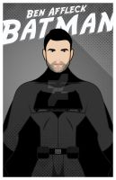 Ben Affleck as Batman by Tooniefied