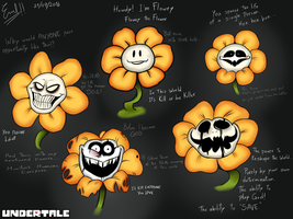Flowey the Flower by Emil-Inze