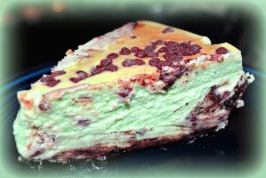 Chocolate Mint Cheesecake Recipe by sioranth