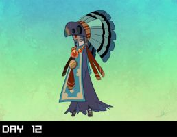 October 2015 Design Challenge: DAY 12 by Lanmana
