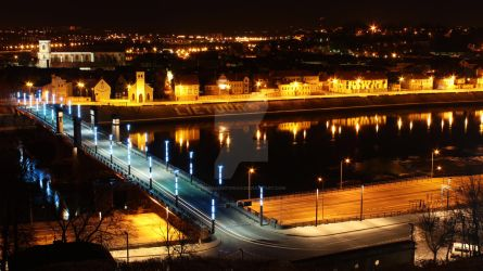 Lithuania, Kaunas City, Aleksotas Bridge by TomasLiutvinas