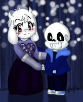UT - Soriel AU Week Day 5: Promtale by skyechan