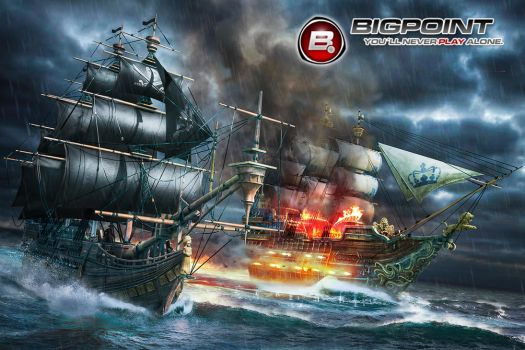 Pirate ships by rOEN911