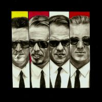 Reservoir Dogs by girlinterruptedbyart