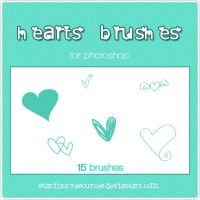 Hearts brushes by stardixa-resources