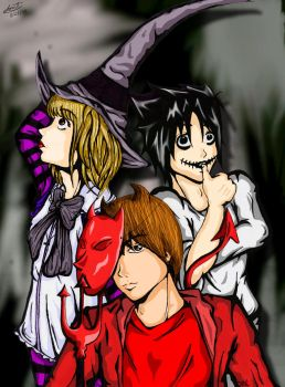 +Deathnote Nightmare+ by tigerkatz