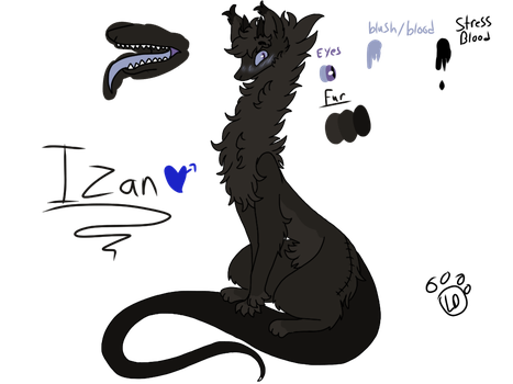 Izan my anxiety monster by Iceamon808