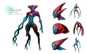 Deoxys by MrRedButcher