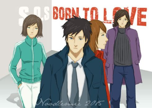 Characters from S.O.S Drama by noodlemie