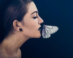 Butterfly Kiss by Sarah-BK
